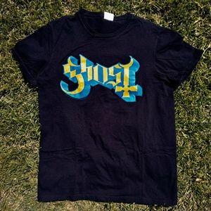 GHOST 2018 Concert Tour Logo T-Shirt - Size Medium